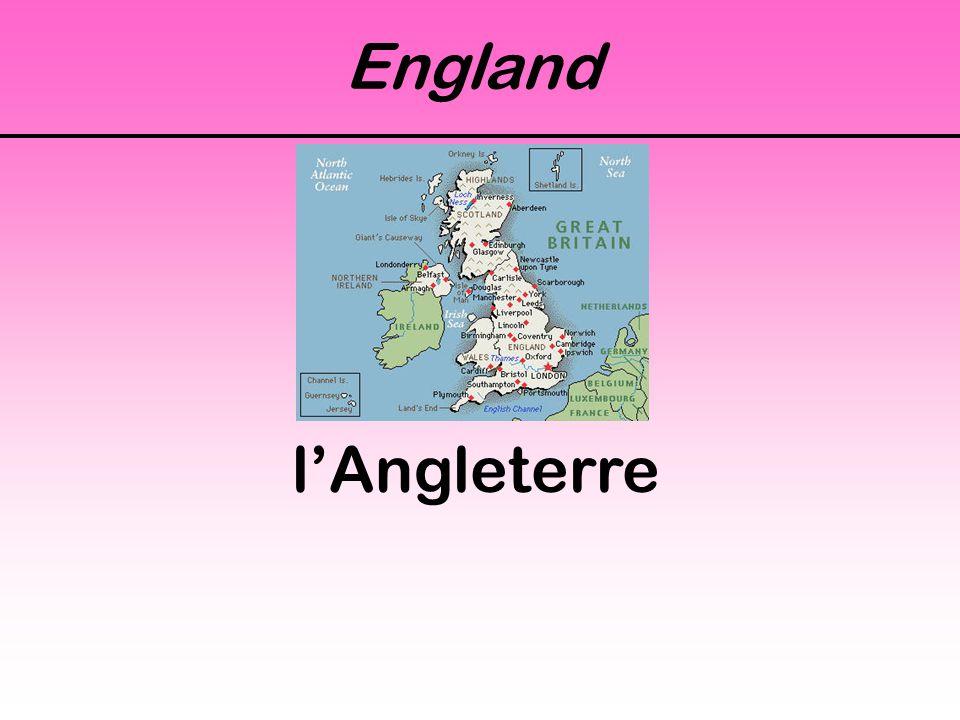 England l'Angleterre