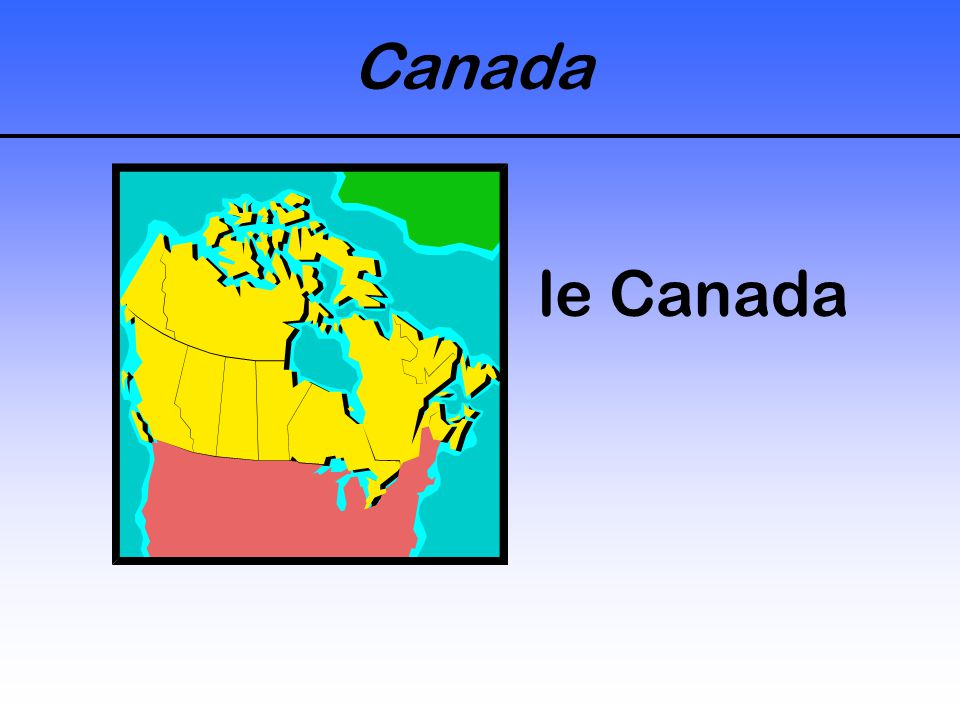 Canada le Canada