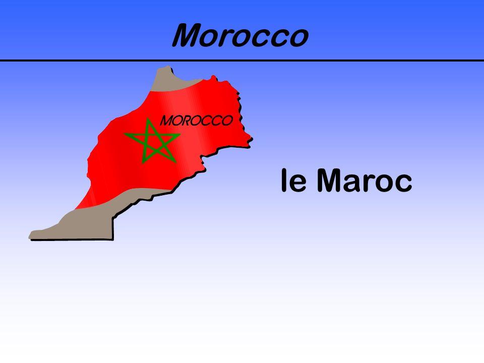 Morocco le Maroc