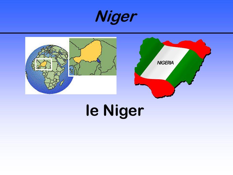 Niger le Niger