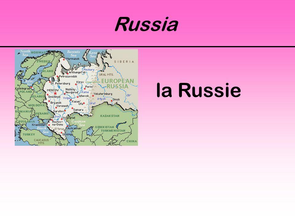Russia la Russie