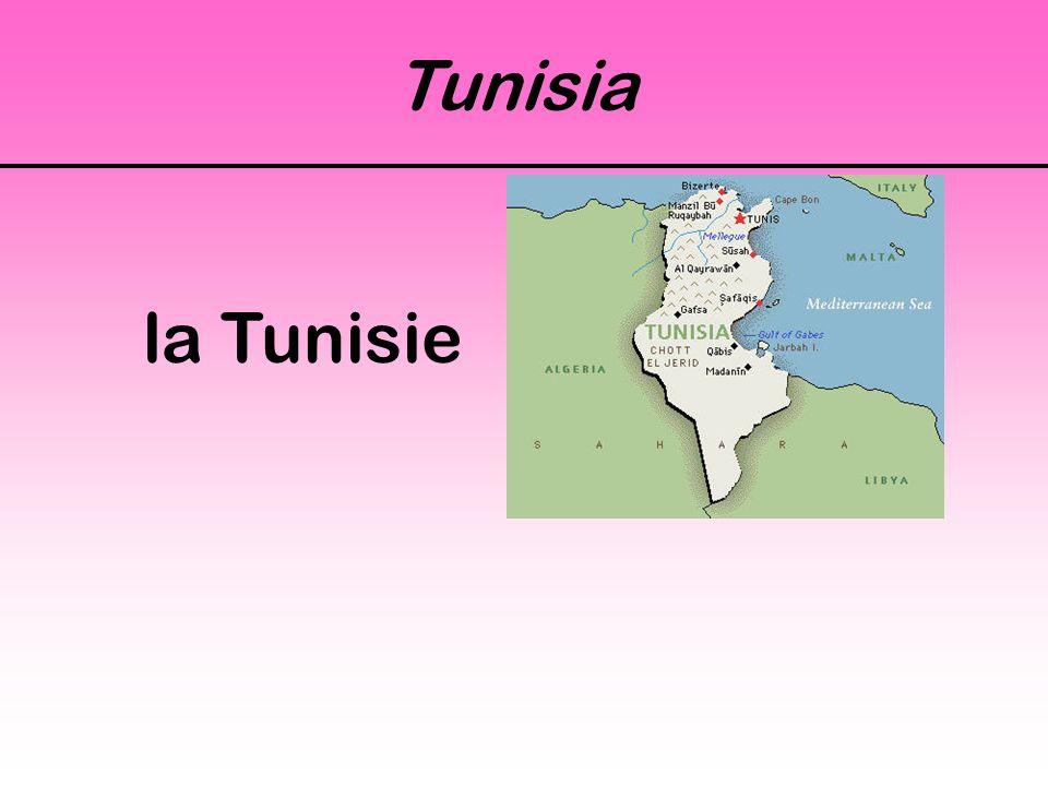 Tunisia la Tunisie