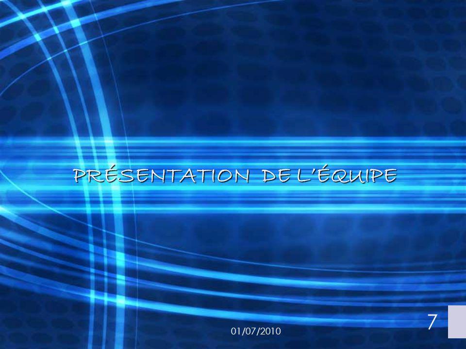 CONCLUSION 01/07/2010 18