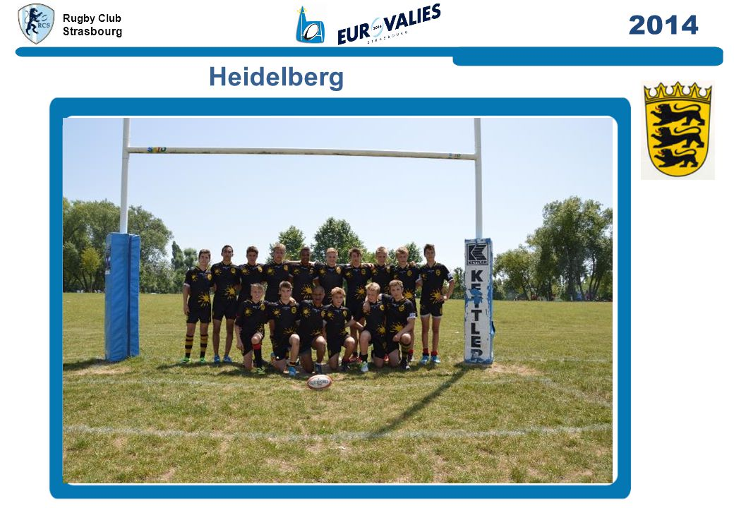 Rugby Club Strasbourg 2014 Luxembourg