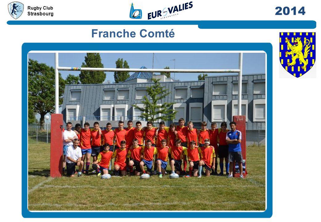 Rugby Club Strasbourg 2014 Franche Comté