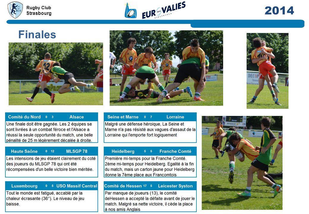 Rugby Club Strasbourg 2014 Finales