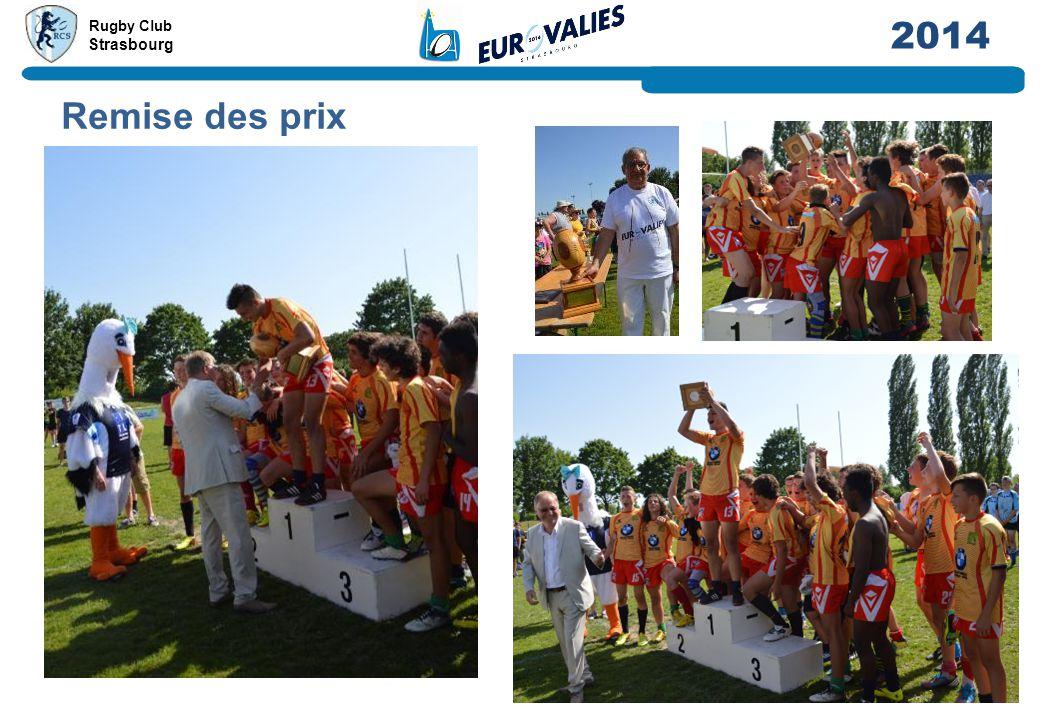 Rugby Club Strasbourg 2014 Remise des prix