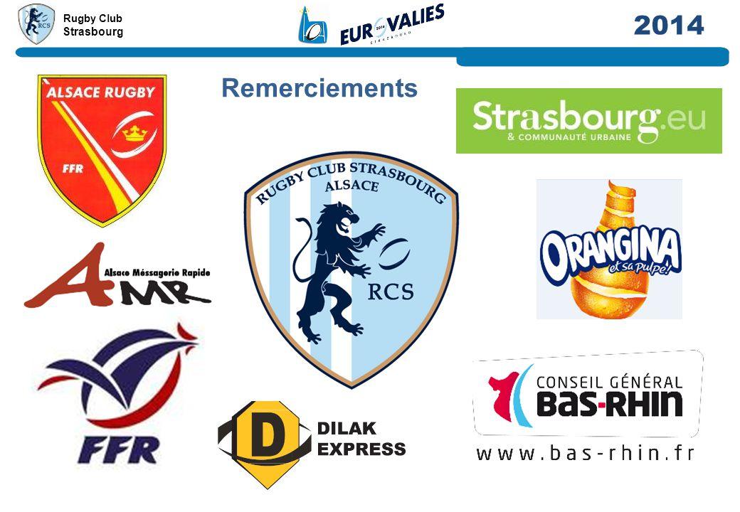 Rugby Club Strasbourg 2014 Remerciements