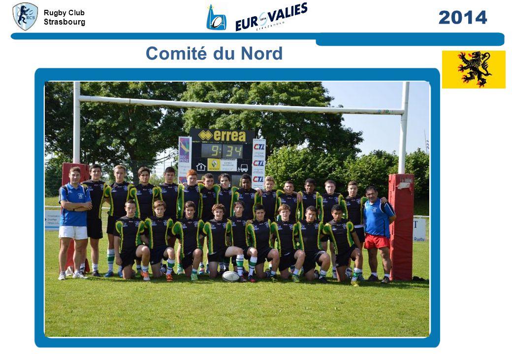 Rugby Club Strasbourg 2014 Comité du Nord