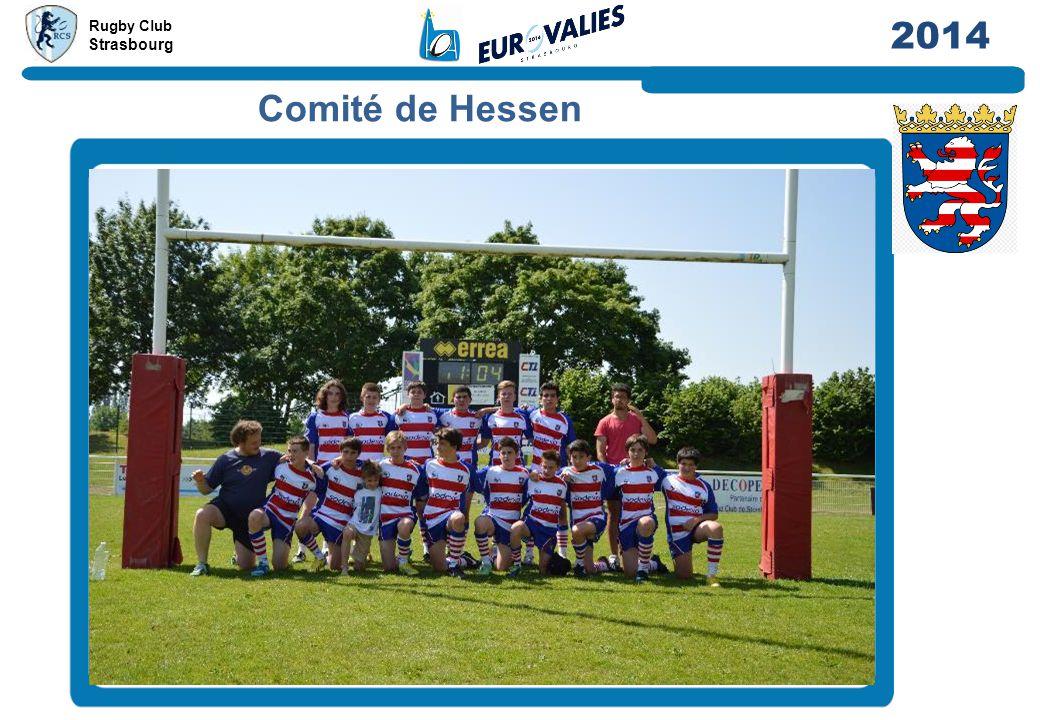 Rugby Club Strasbourg 2014 Comité de Hessen