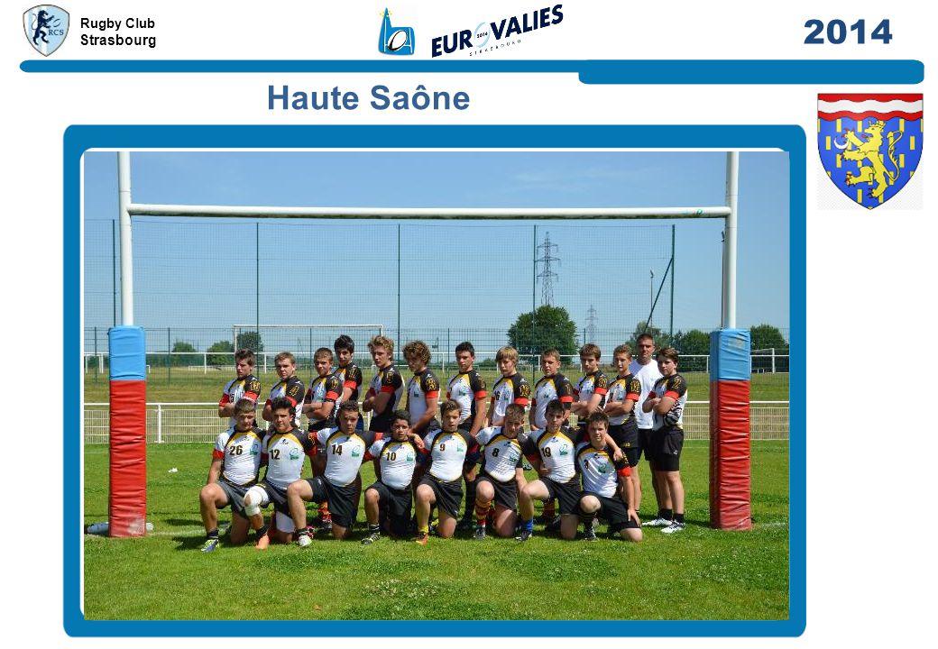 Rugby Club Strasbourg 2014 Haute Saône