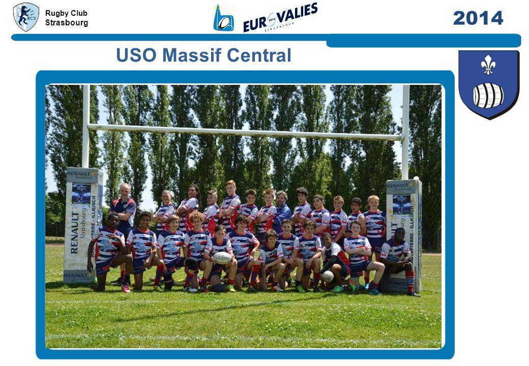 Rugby Club Strasbourg 2014 USO Massif Central