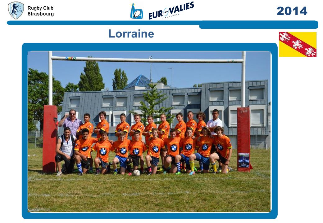 Rugby Club Strasbourg 2014 Lorraine
