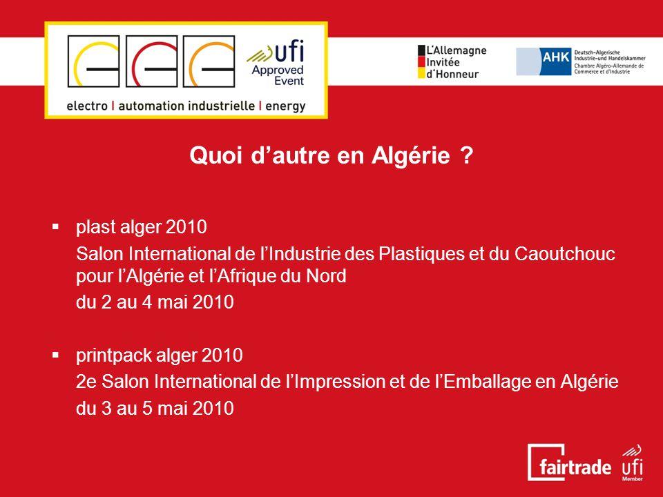 Quoi d'autre en Algérie .