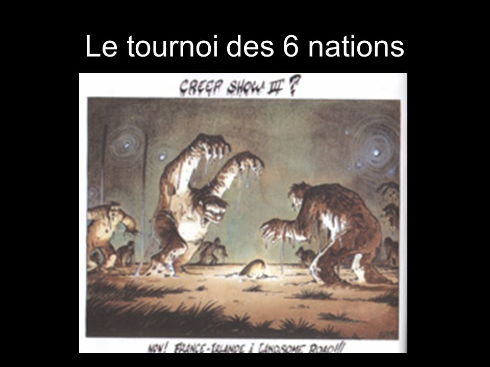 Le tournoi des 6 nations