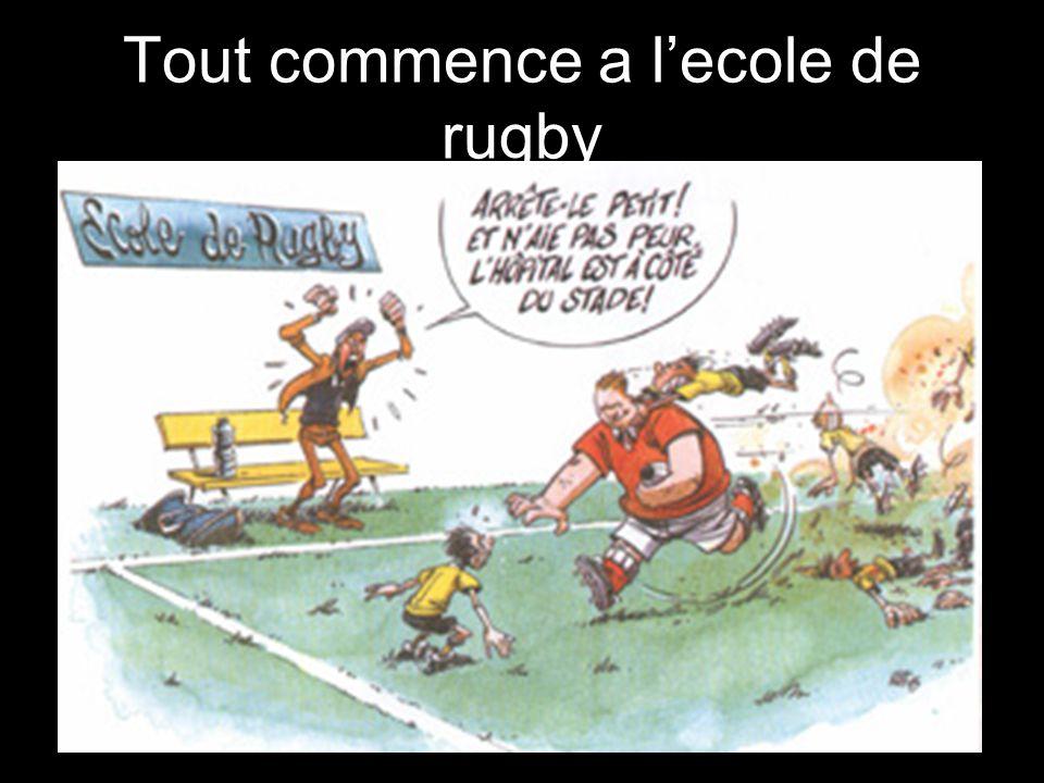 Tout commence a l'ecole de rugby
