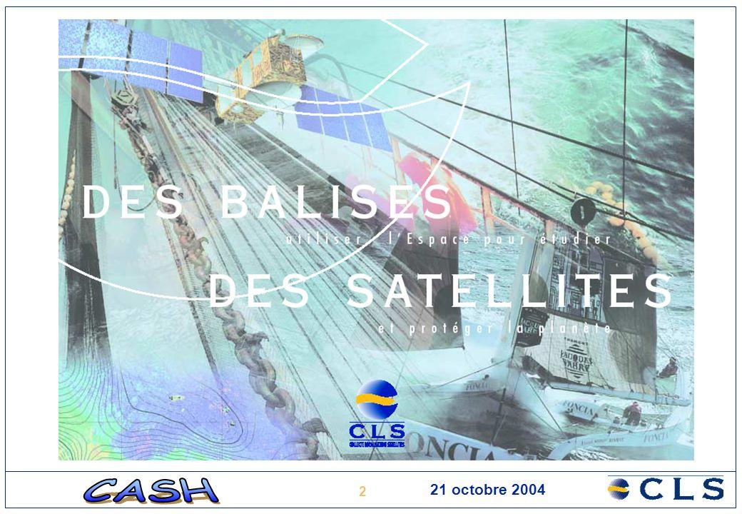 13 21 octobre 2004 Expertise Suivi à long terme –des instruments –de la qualité des données Intercalibration des instruments et des données des différentes missions Développement et tests de nouveaux algorithmes de traitement Mise au point de produits océanographiques multi-satellites en temps réel (DUACS) et en temps différé