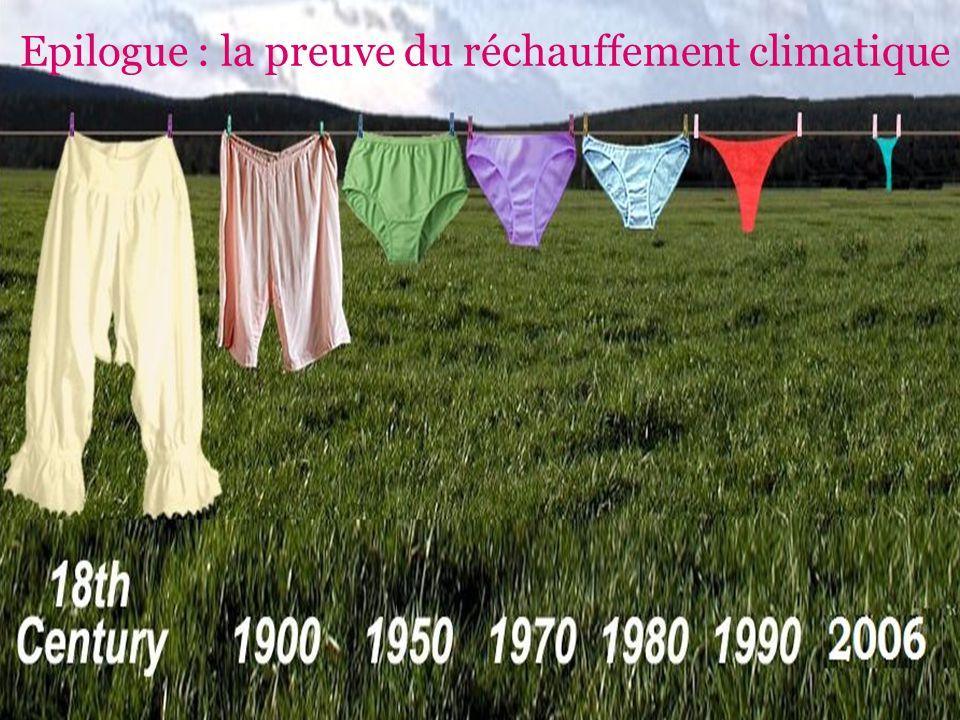 54 Epilogue : la preuve du réchauffement climatique