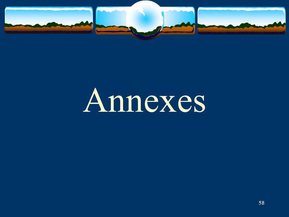 58 Annexes