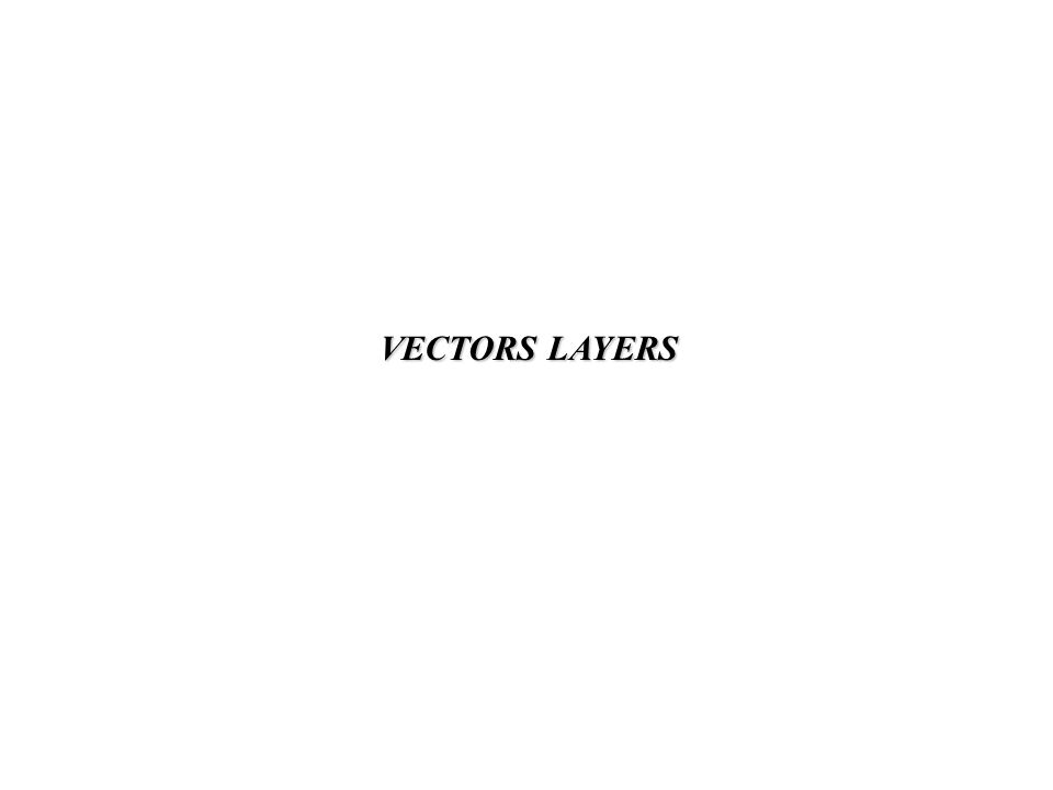 VECTORS LAYERS