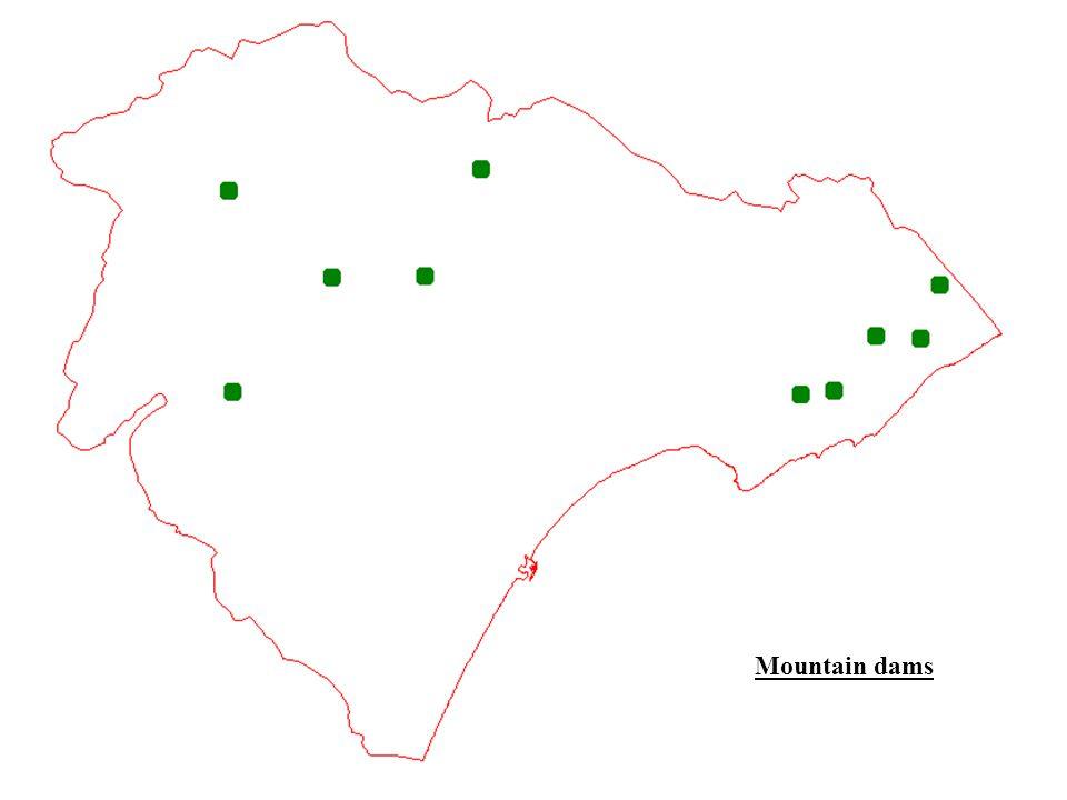 Mountain dams