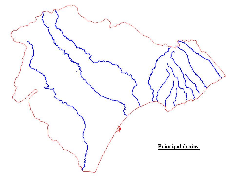 Principal drains
