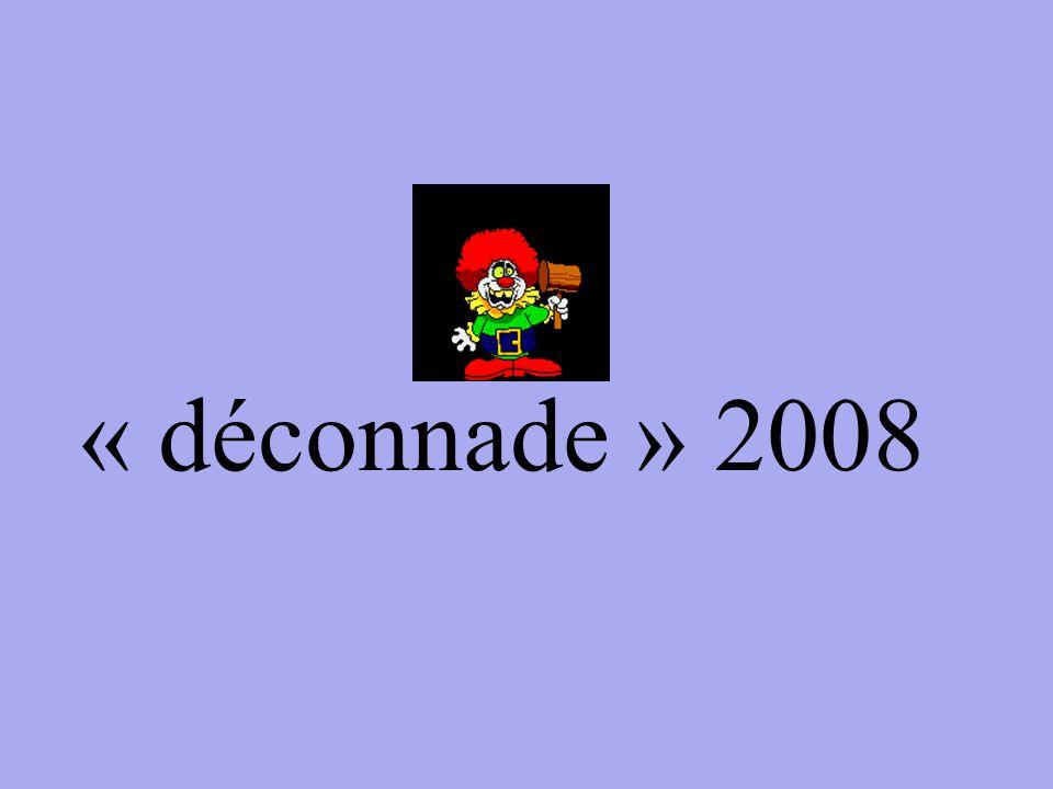 « déconnade » 2008