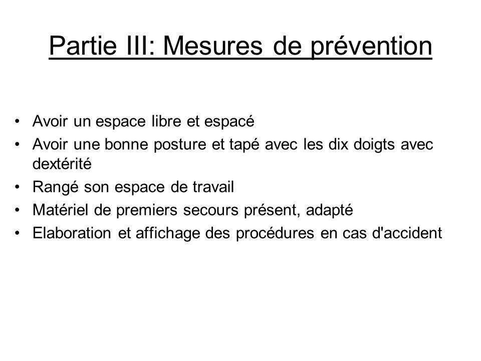 Conclusion générale Le risque mécanique est un geste répétitif, c'est pour cela que des moyens de prévention son mise en place dans le secteur professionnel.