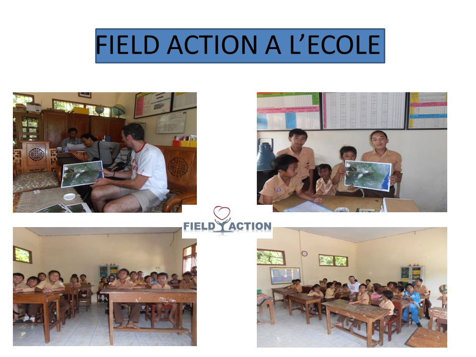 FIELD ACTION A LECOLE