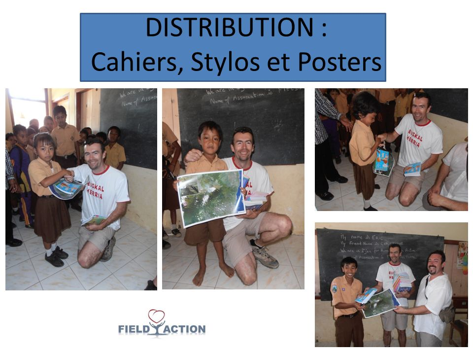 DISTRIBUTION : Cahiers, Stylos et Posters