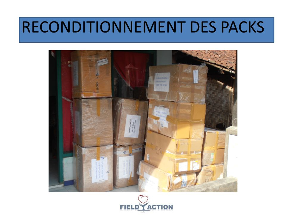RECONDITIONNEMENT DES PACKS