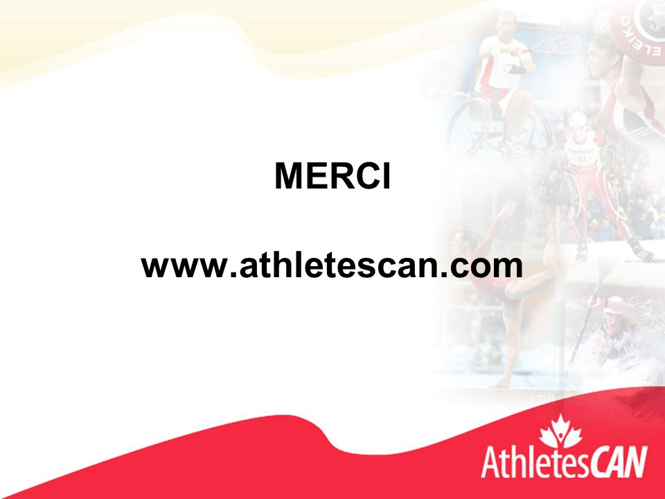 MERCI www.athletescan.com