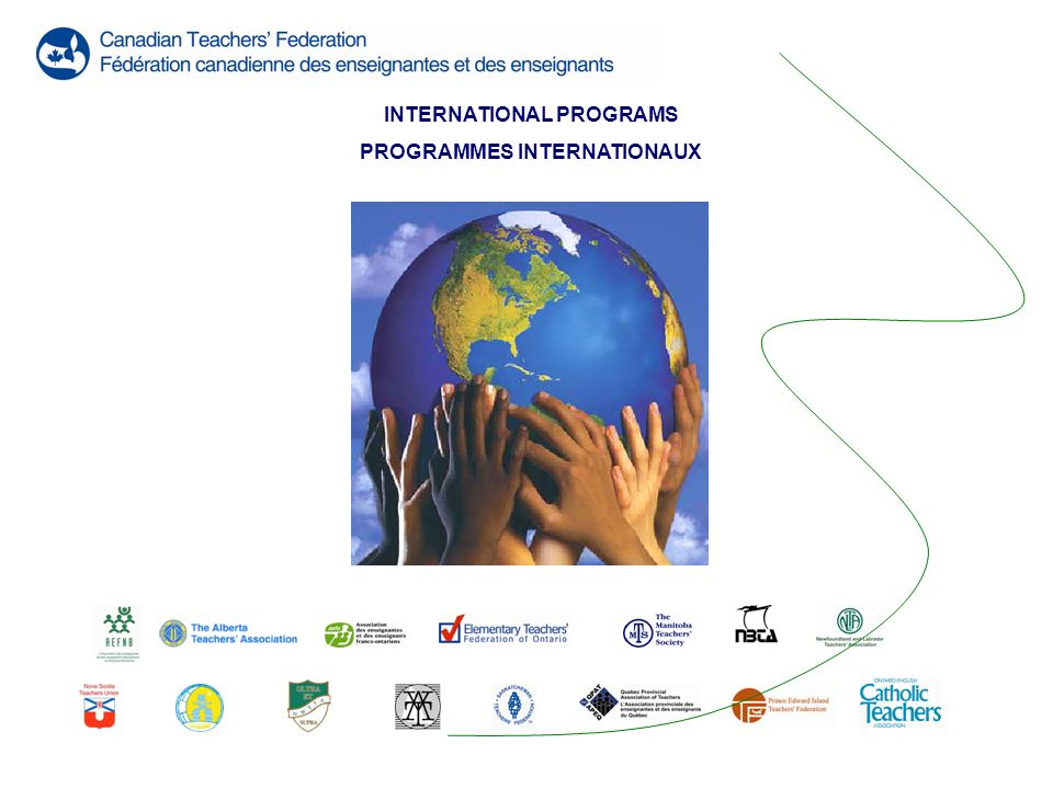 INTERNATIONAL PROGRAMS PROGRAMMES INTERNATIONAUX