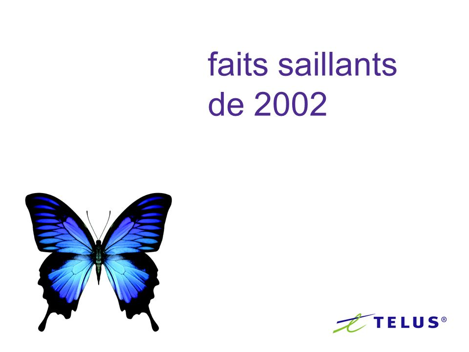 faits saillants de 2002
