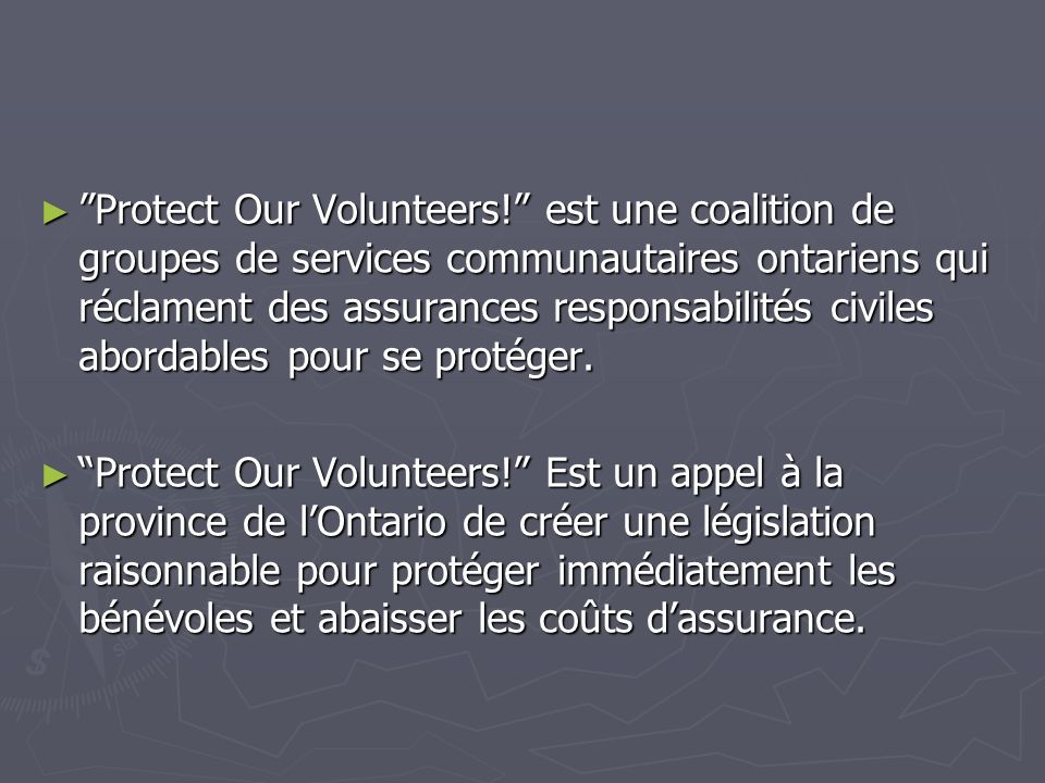 Volunteers In Action Volunteers In Action est un programme dédier aux clubs pour le recrutement des bénévoles ainsi que la rétention et la reconnaissance de ceux-ci.