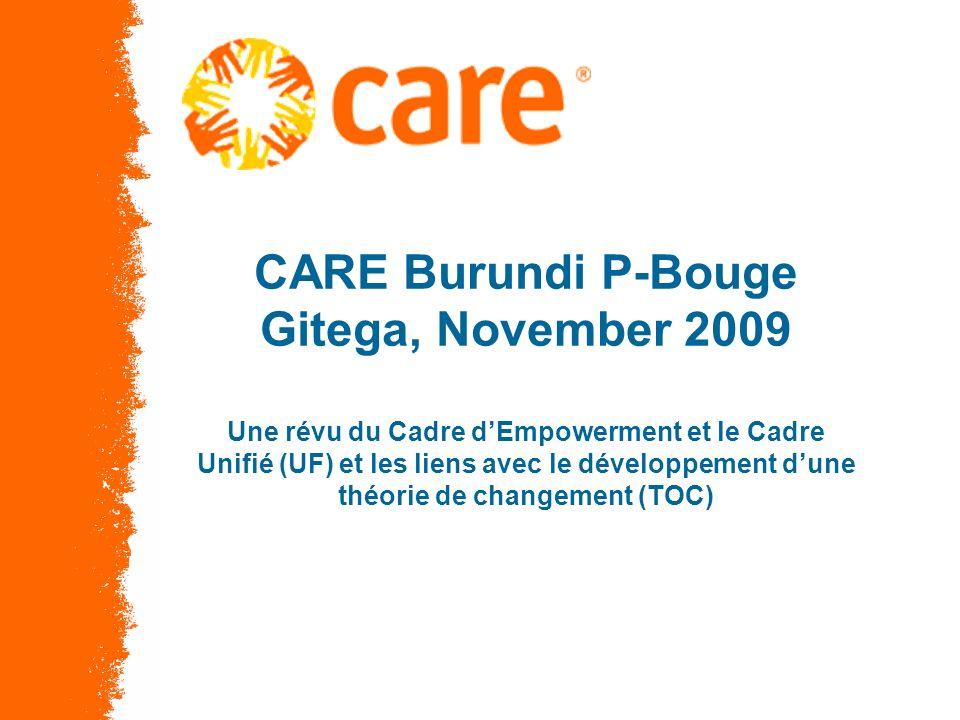 © 2005, CARE USA. All rights reserved.