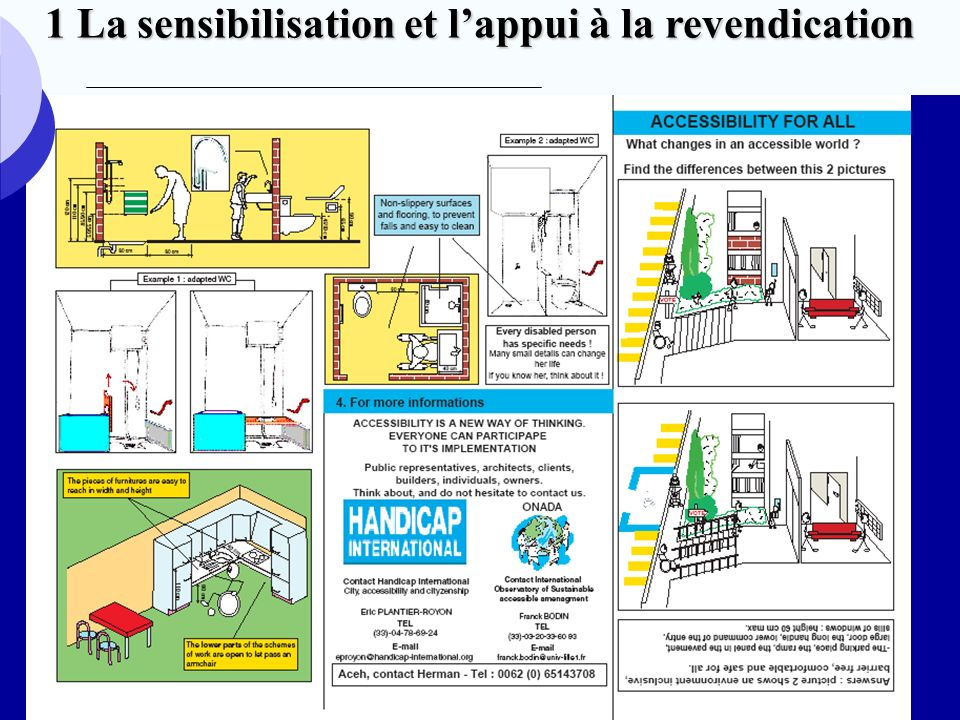 Brochure Indonésie La sensibilisation et lappui à la revendication