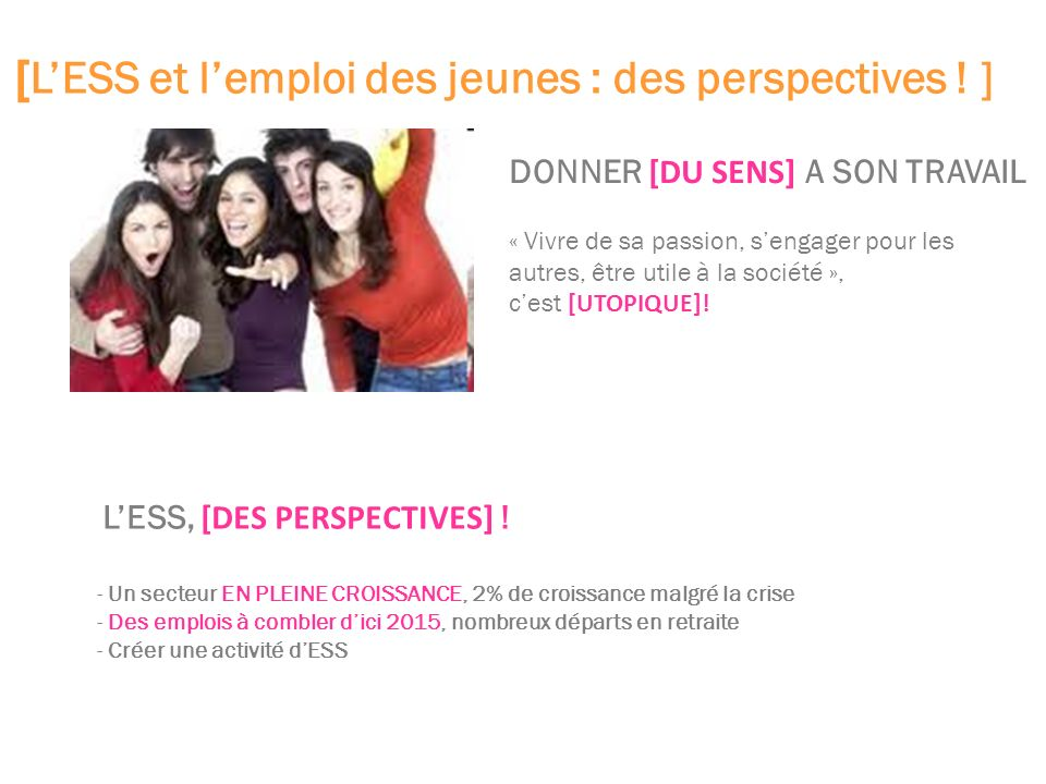 LESS, [DES PERSPECTIVES] .
