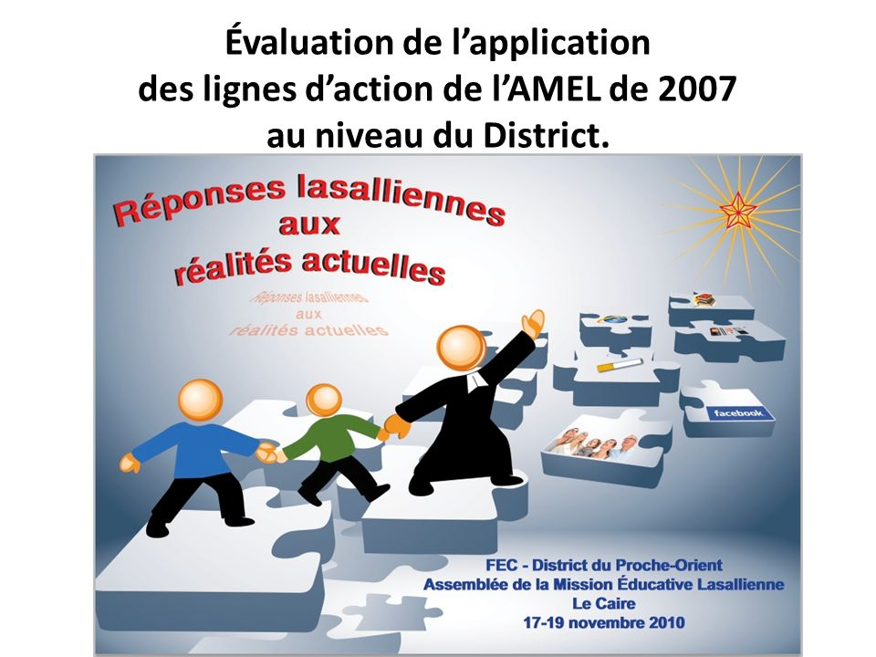 Évaluation de lapplication des lignes daction de lAMEL de 2007 au niveau du District.