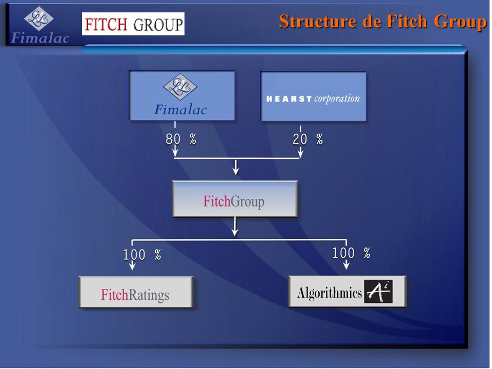 Structure de Fitch Group