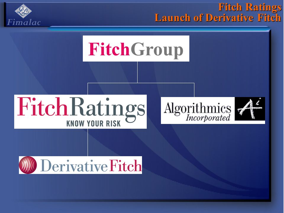 Fitch Ratings Launch of Derivative Fitch FitchGroup