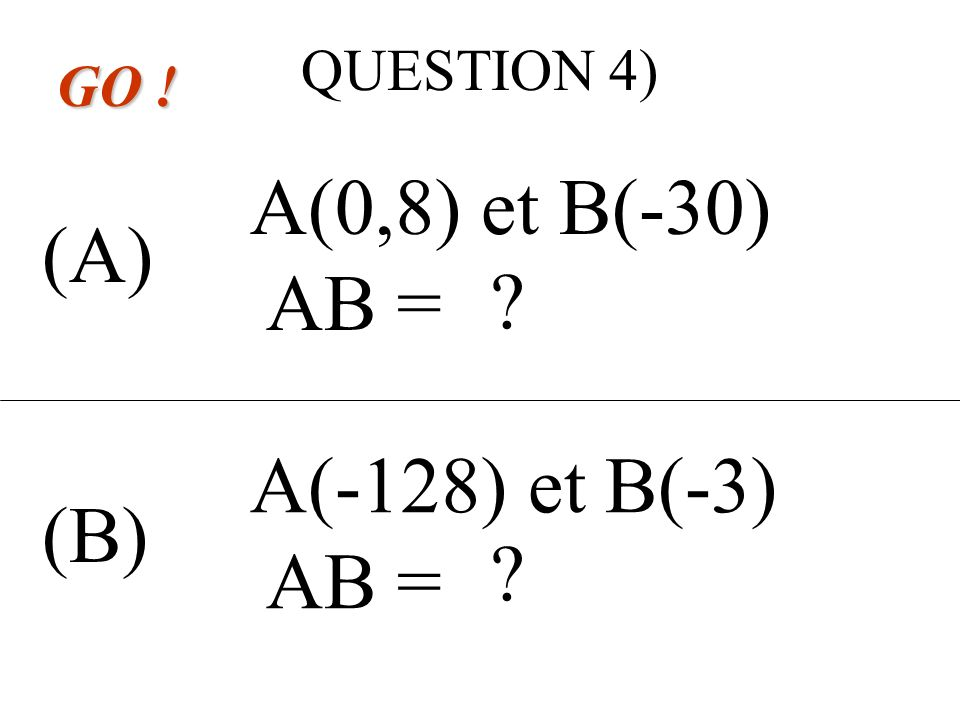 QUESTION 3) (A) (B) GO . MPN = 90° et PM = PN MNP est un triangle … .