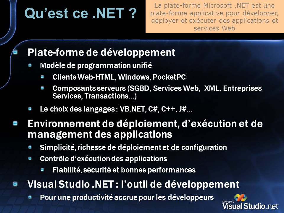 Quest ce.NET .