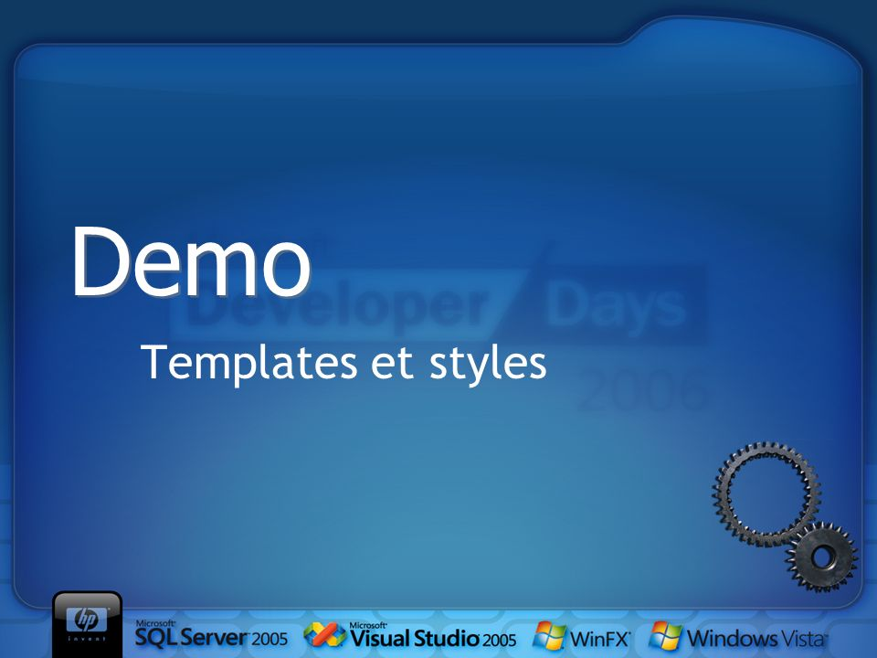 Templates et styles Demo
