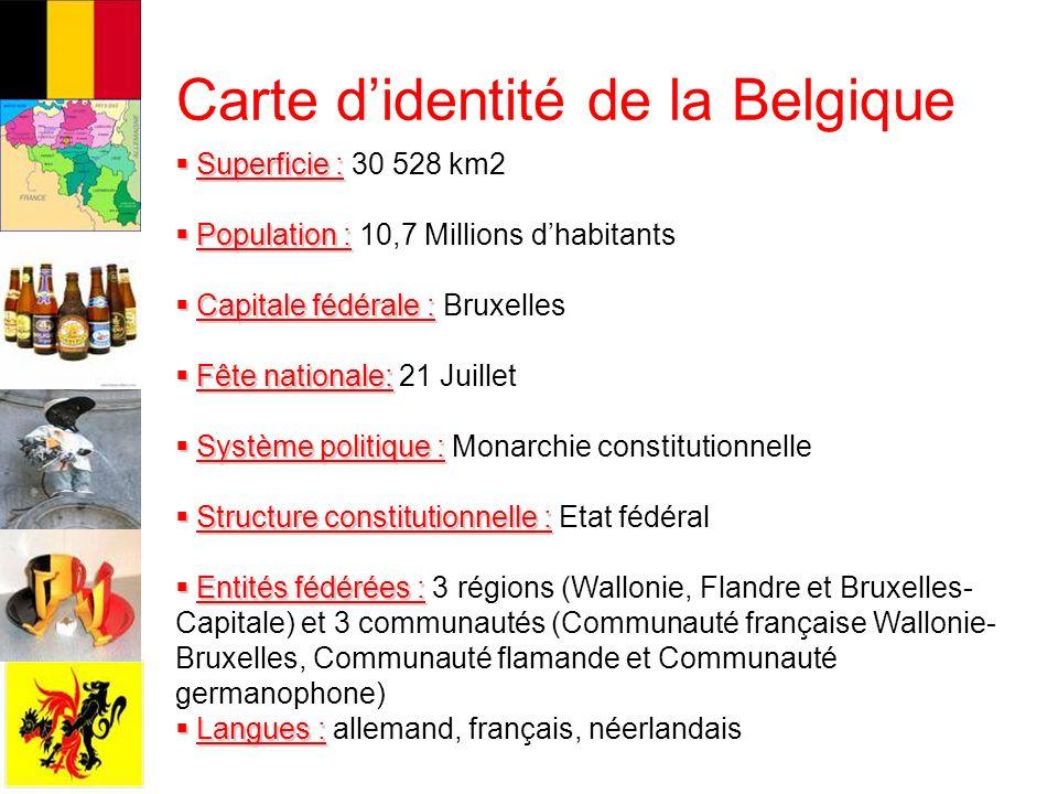 Carte Belgique Communautes Et Regions.Le Systeme Local En Belgique C Arte Didentite De La Belgique