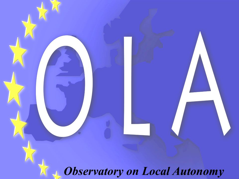 . Observatory on Local Autonomy