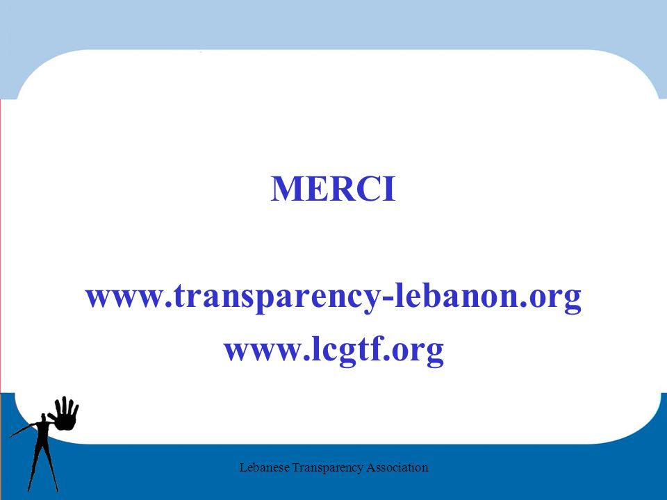 Lebanese Transparency Association MERCI