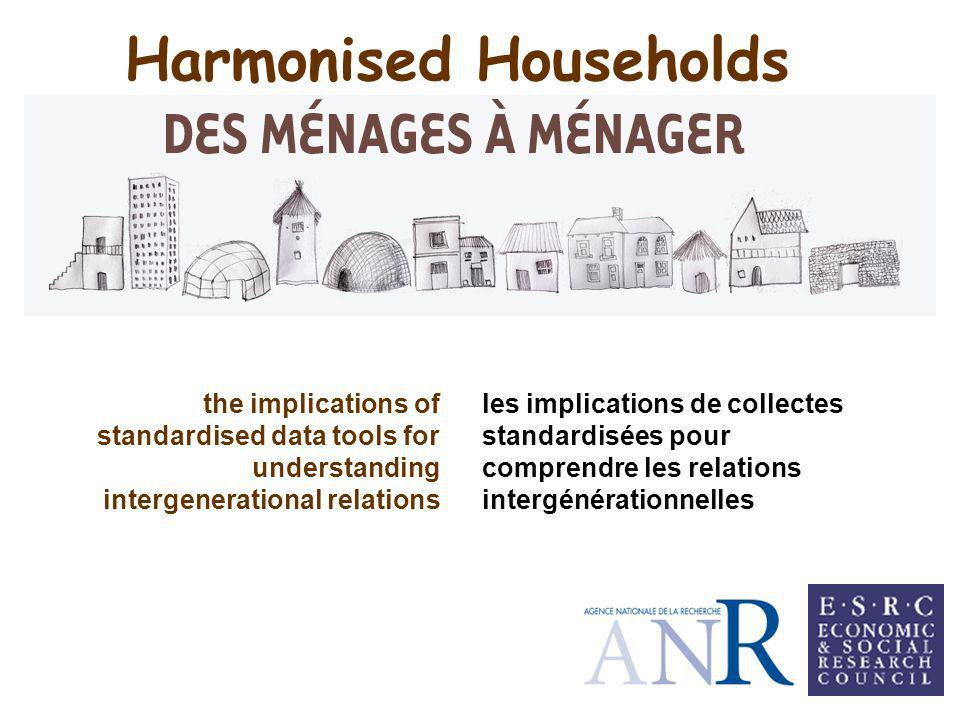 Harmonised Households les implications de collectes standardisées pour comprendre les relations intergénérationnelles the implications of standardised data tools for understanding intergenerational relations