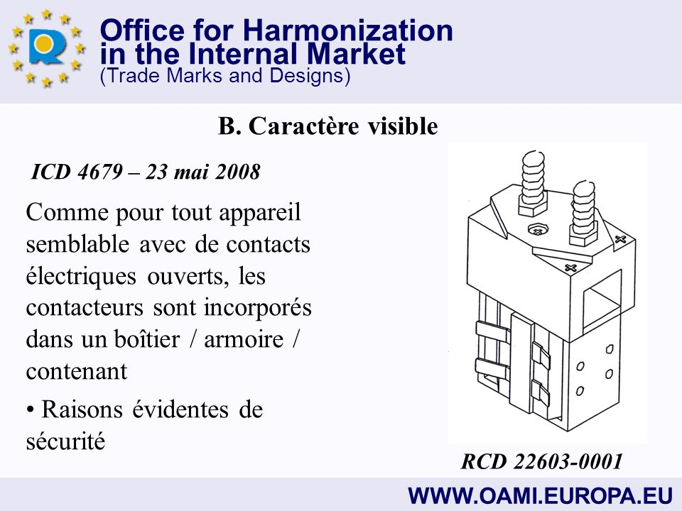 Office for Harmonization in the Internal Market (Trade Marks and Designs)   B.