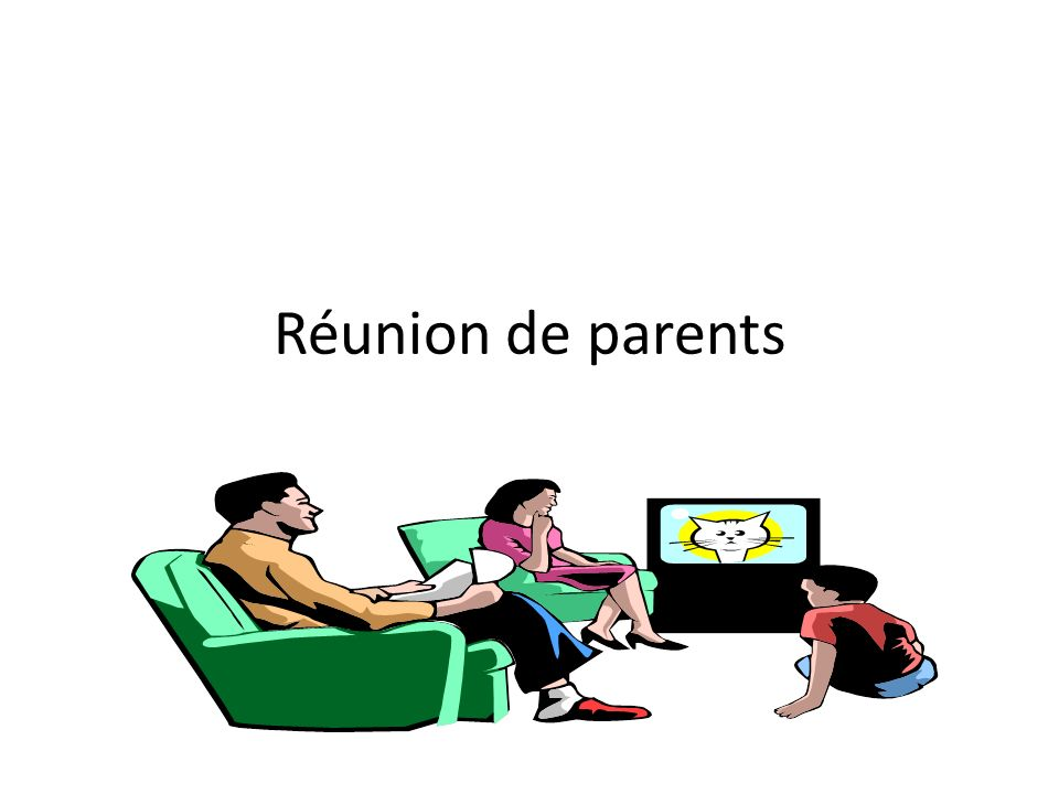 Réunion de parents